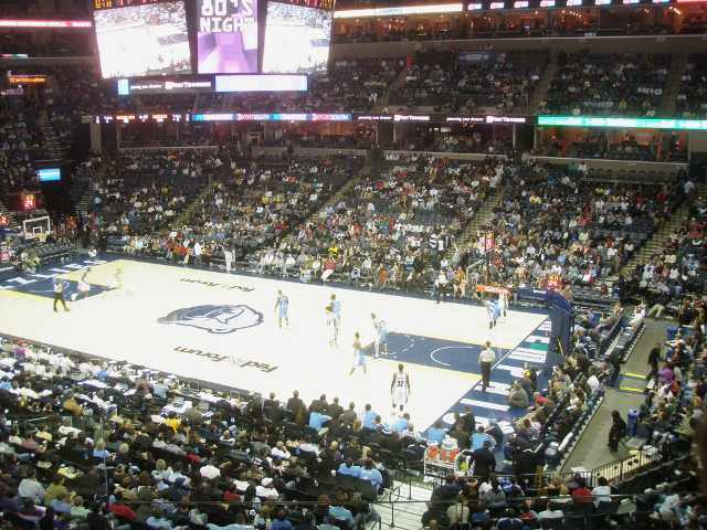 Memphis Grizzlies Club Seats