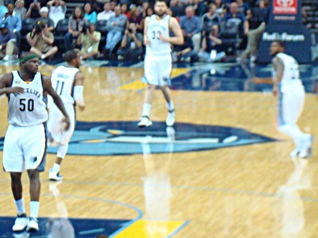 Memphis Grizzlies Courtside Seats